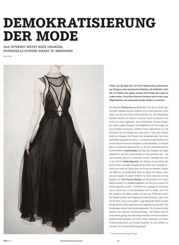Demokratisierung der Mode