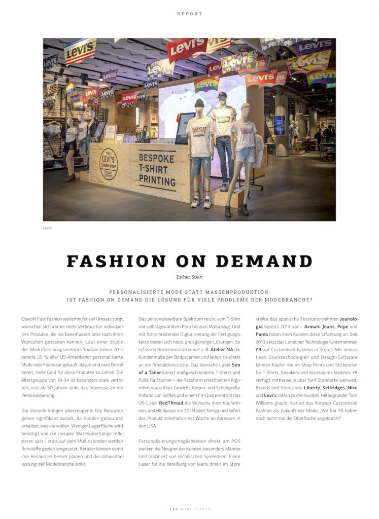 Fashion on Demand