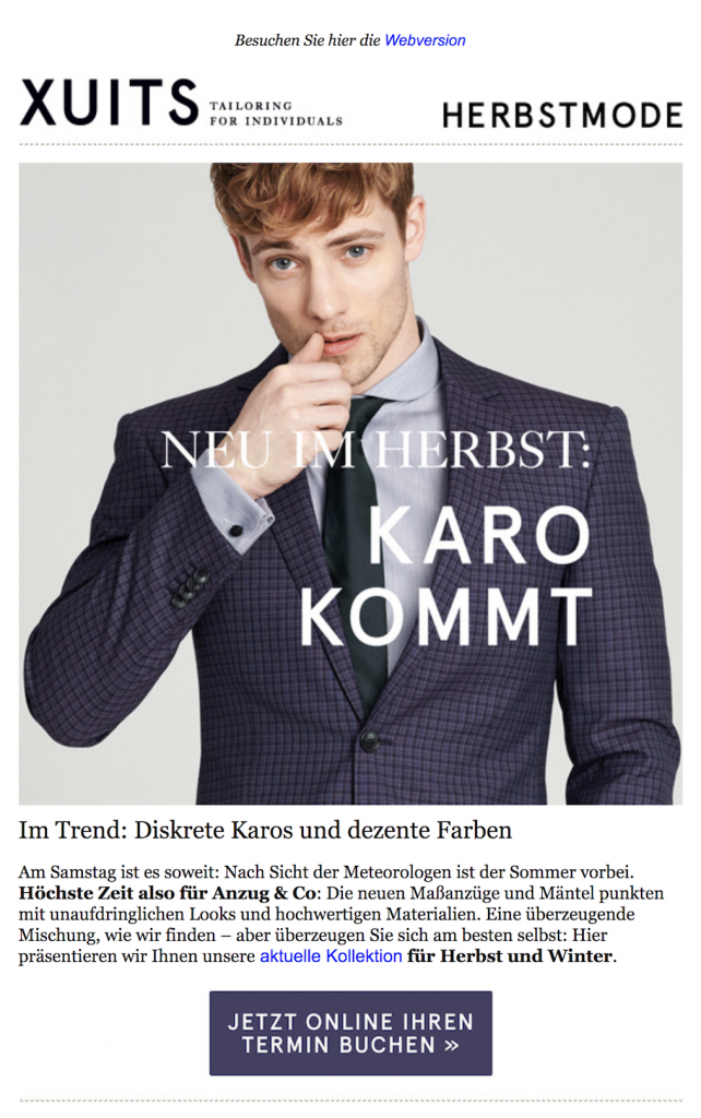 Newsletter XUITS Herbst 2018